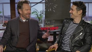Why Him?: Bryan Cranston & James Franco on filming awkward scenes
