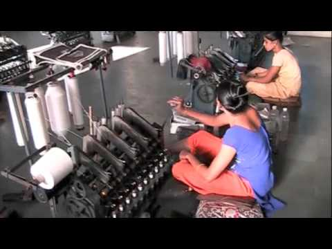Visit to A Khadi Weaving Factory, Gondal, Gujarat, India