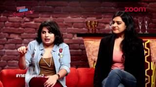 Mallika Dua & Kaneez Surka Abusing  !@#$%^&* Th...