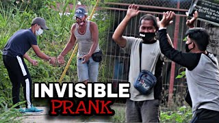"INVISIBLE GLASS | ""PUBLIC"" (PRANK) mabigat tay"