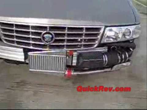 Cadillac STS Turbo - 650 HP - QuickRev - YouTube