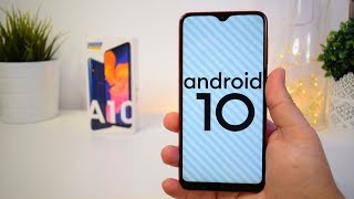 ANDROID 10 SAMSUNG GALAXY A10 OFICIAL