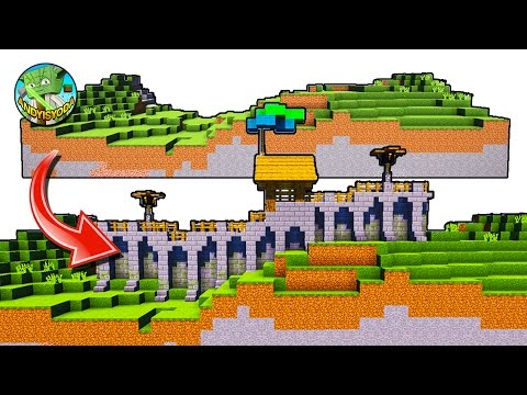 A Wall Building System For Minecraft Villages + Lights + Paths