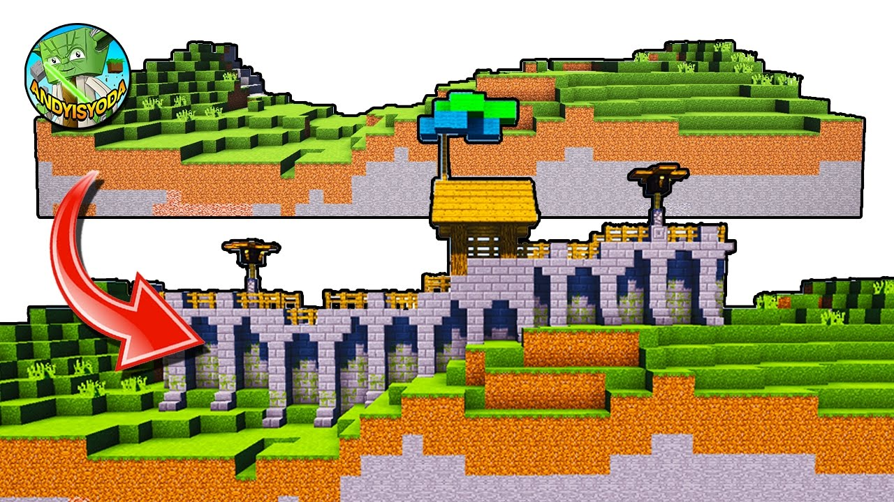 A Wall Building System For Minecraft Villages Lights