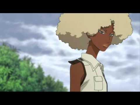 Black Anime and Manga Characters