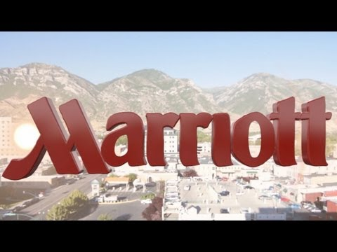 Provo Utah Marriott Rooftop Venue