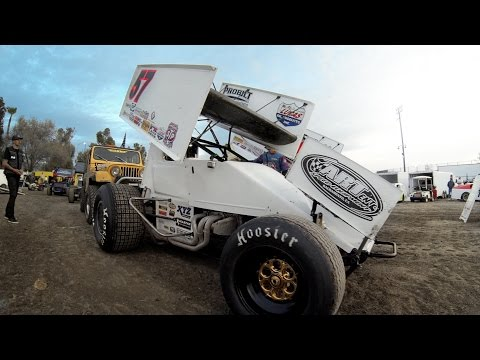 GoPro: Kyle Larson Rips Up Sprint Car Dirt Track
