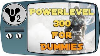 Destiny 2 Guide 🌌 SCHNELL Powerlevel 300 - Anfängerguide - Was tun mit Level 20? deutsch german