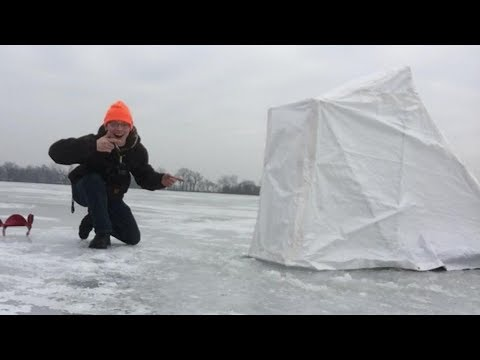 Building A Homemade Portable Ice House
