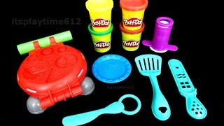 Play-Doh | itsplaytime612 Play-Doh BURGER BARBECUE Fun Creativity for Little Kids