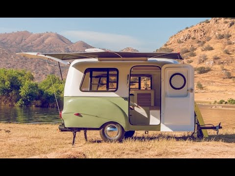 coolest lightweight travel trailer happier camper hc1