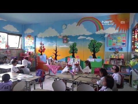 Net Jatim Ruang Kelas Penuh Mural Pembangkit Semangat