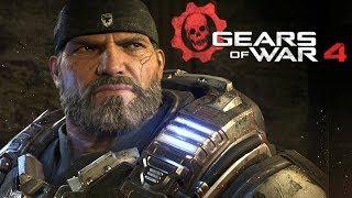 Gears of War 4 Полный игрофильм, весь сюжет (MOVIE 1080p PC)