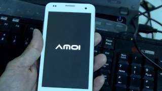 AMOI A862W Upgrade Mulit language ROM Method