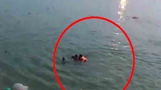Horrifying visuals of Bihar Boat Tragedy