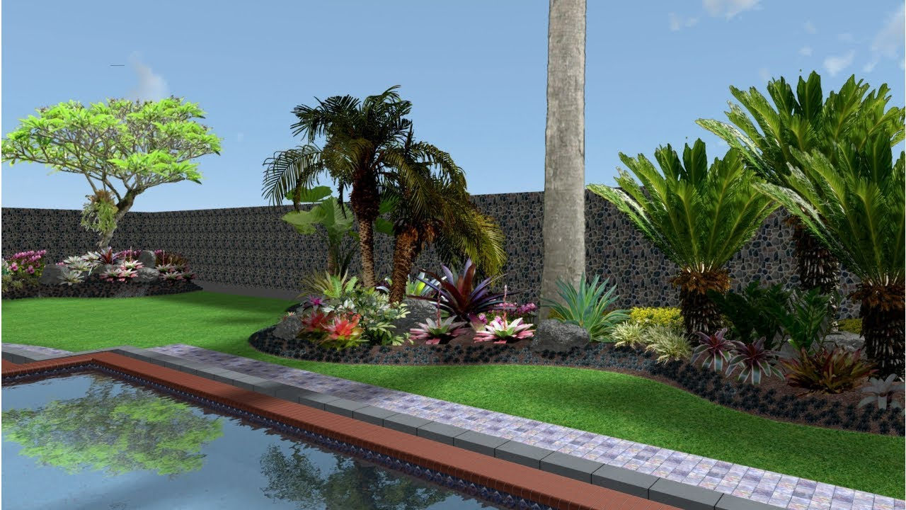 Desain Taman Vanda Gardenia Hotel Resort Youtube