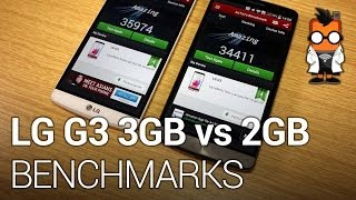 LG G3 Benchmarks - 3 GB vs 2 GB model