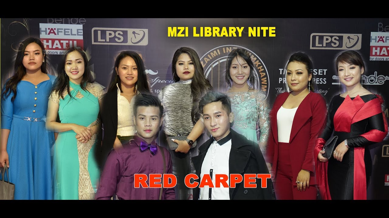 RED CARPET : MZI LIBRARY NITE 2019
