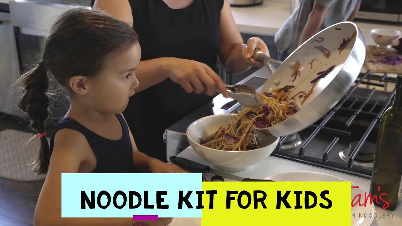 How to Make Noodles for Kids - Tam's Asian Noodlery Kit