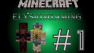 Let´s Play Minecraft #1 - Survival Island