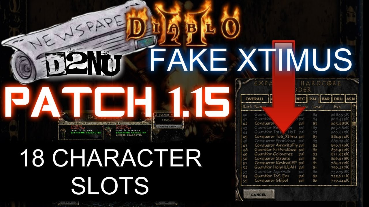 Diablo 2 immortal mod mod db.