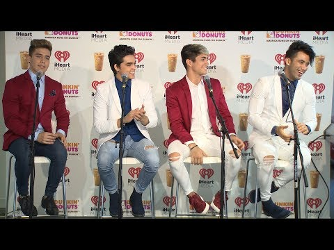 Angeles Talks Being the First Boy Band from Cuba | Interview