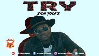 Don Tooks - Try - October 2018