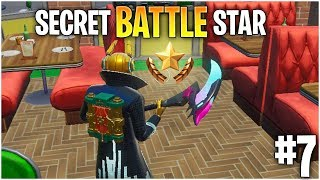 Fortnite Week 7 Secret Battle Star location || Team Spirit Challenge || Season X
