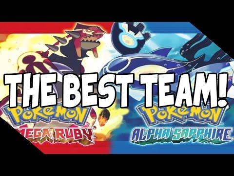 The BEST Team For Pokemon Omega Ruby/Alpha Sapphire!