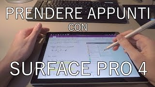 Come prendere appunti con Surface Pro 4  by [3RG]