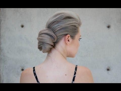 Texture Low Bun Wedding Hair