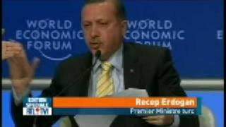 Violente dispute entre Shimon Peres et Recep Erdogan a davos