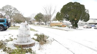 Arctic blast brings snow to Texas | AFP A blanket of snow covers the streets of Houston, Texas, a southern US state more accustomed to record-breaking heat than ice. An historic cold snap has been ..., From YouTubeVideos
