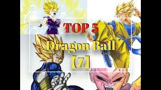 Top 5 Strongest Dragon Ball Z Character Power Levels