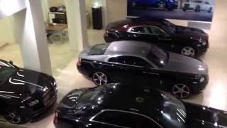 Барокамера OxyHealth в салоне Rolls-Royce Motor Cars Moscow