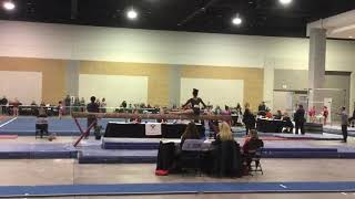 Gambar cover Emily Ford Level 9 Regionals Beam Routine 2018