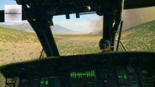 UH-60L Blackhawk Bambi Bucket Aerial Firefighting. Logan, Utah and Malad, Idaho
