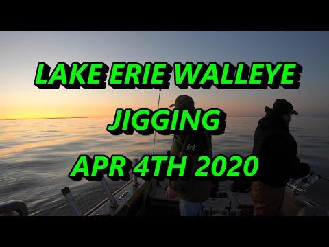 Jigging Walleye On Lake Erie's Reef Complex Apr 2020