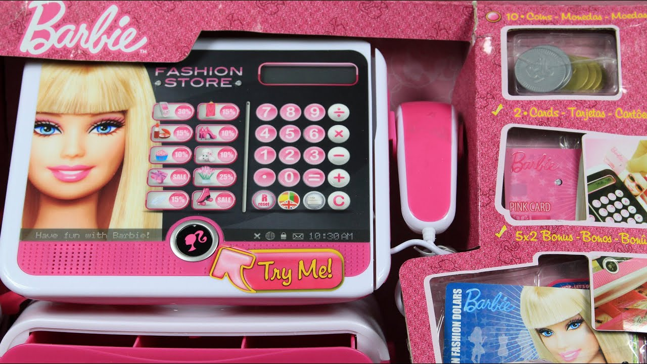 barbie fashion store