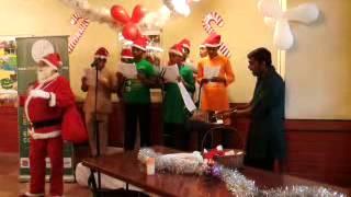Muktangan Children Choir Singing Silver Bells At Taj Lands End