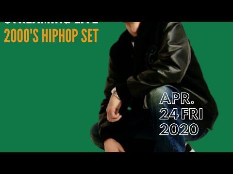 DJ SWING Streaming Live -2000's HIPHOP Set- April 24, 2020