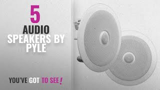 Top 5 Pyle Audio Speakers [2018]: 6.5'' In-Wall/In-Ceiling Midbass Speakers (Pair) - 2-Way Woofer