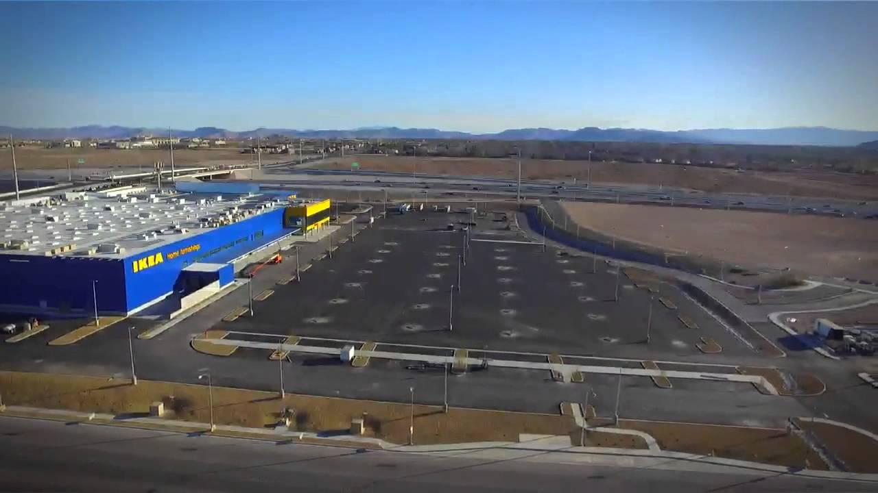 Ikea Las Vegas Aerial View Youtube