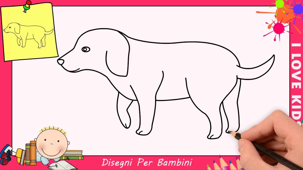 Come Disegnare Un Cane Facile Passo Per Passo Per Bambini 12 Youtube