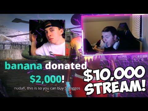 WTF!? INSANE $10,000+ IN ONE TWITCH STREAM!