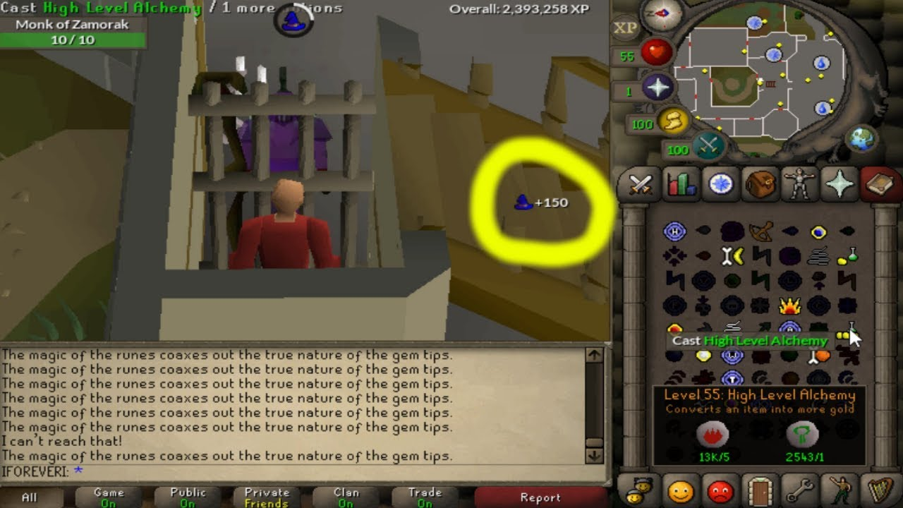 how to get magic to osrs