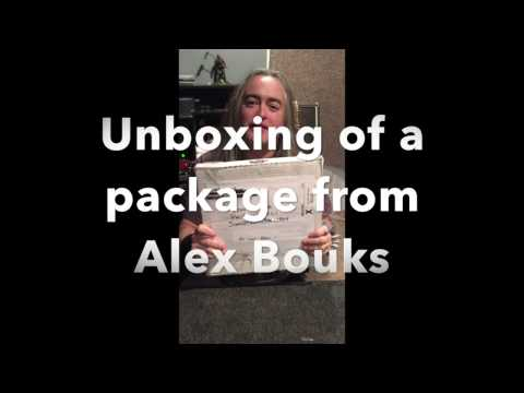 John and Kyle (Incantation) Unboxing a package from Alex Bouks (Ruinous) (Goreaphobia)