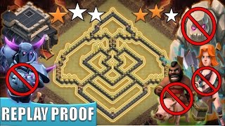 TH 9 (TOWN HALL 9) ANTI 2 STARS WAR BASE || ANTI GoVaHo || ANTI 3 STARS || REPLAY PROOF || COC