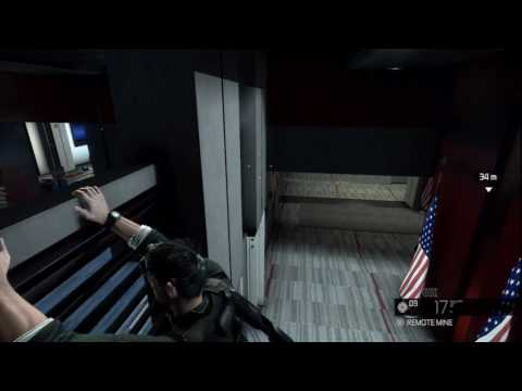 Splinter Cell Conviction Gameplay Trailer Acrobatic navigation