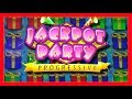 LOTS OF BIG WINS on Jackpot Party Progressive Slot Machine With SDGuy1234